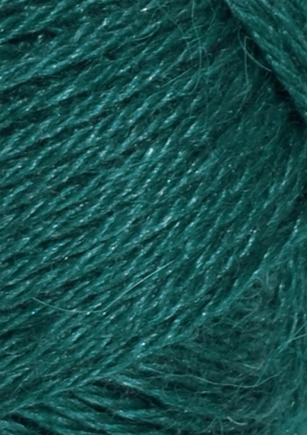 6765 Petrol Alpakka silke