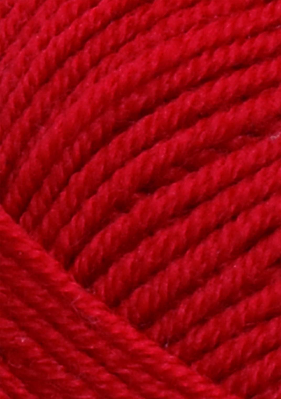 4219 Rød tynn merinould