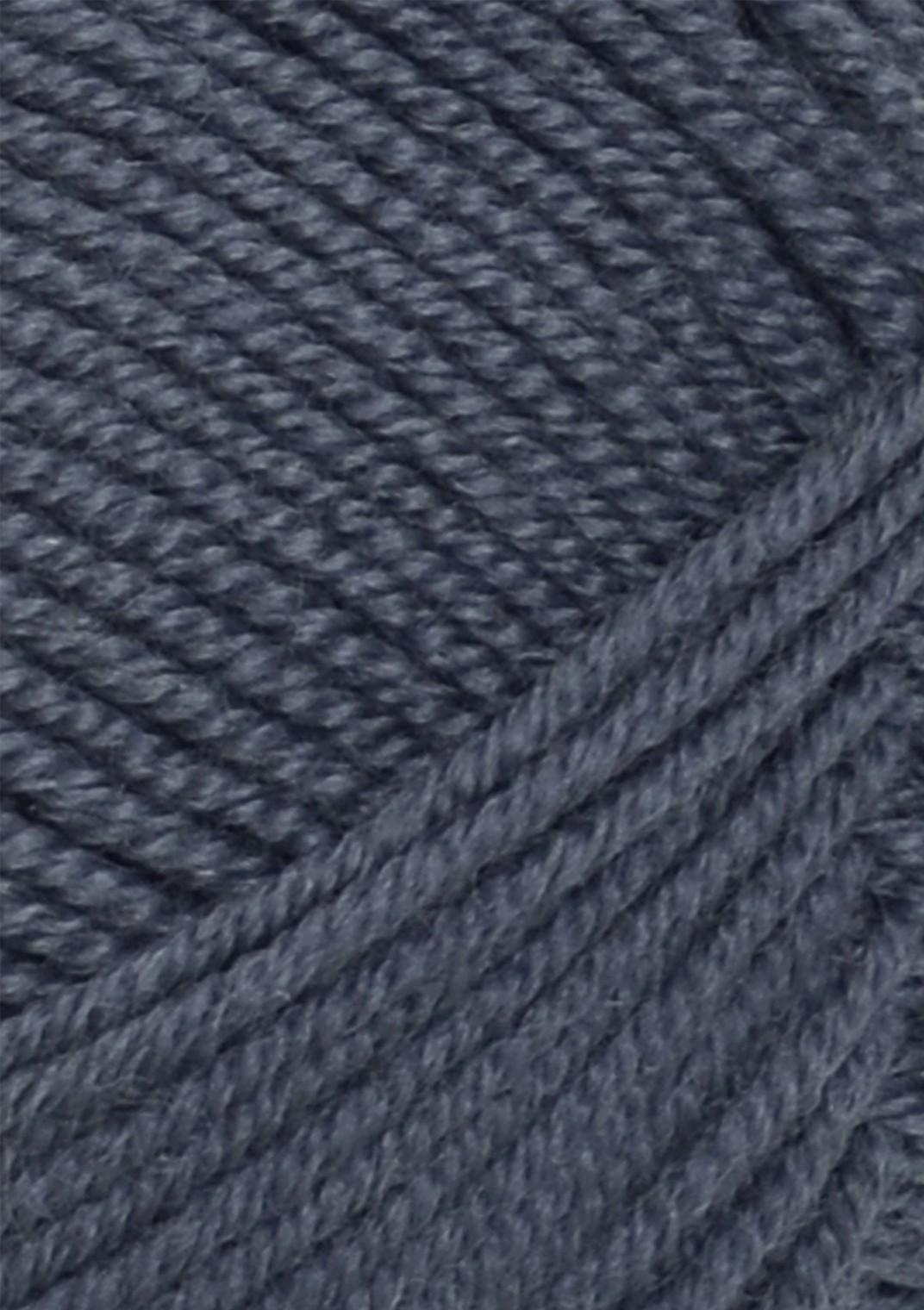 6071 Gråblå Tynn Merinould Sandnes garn