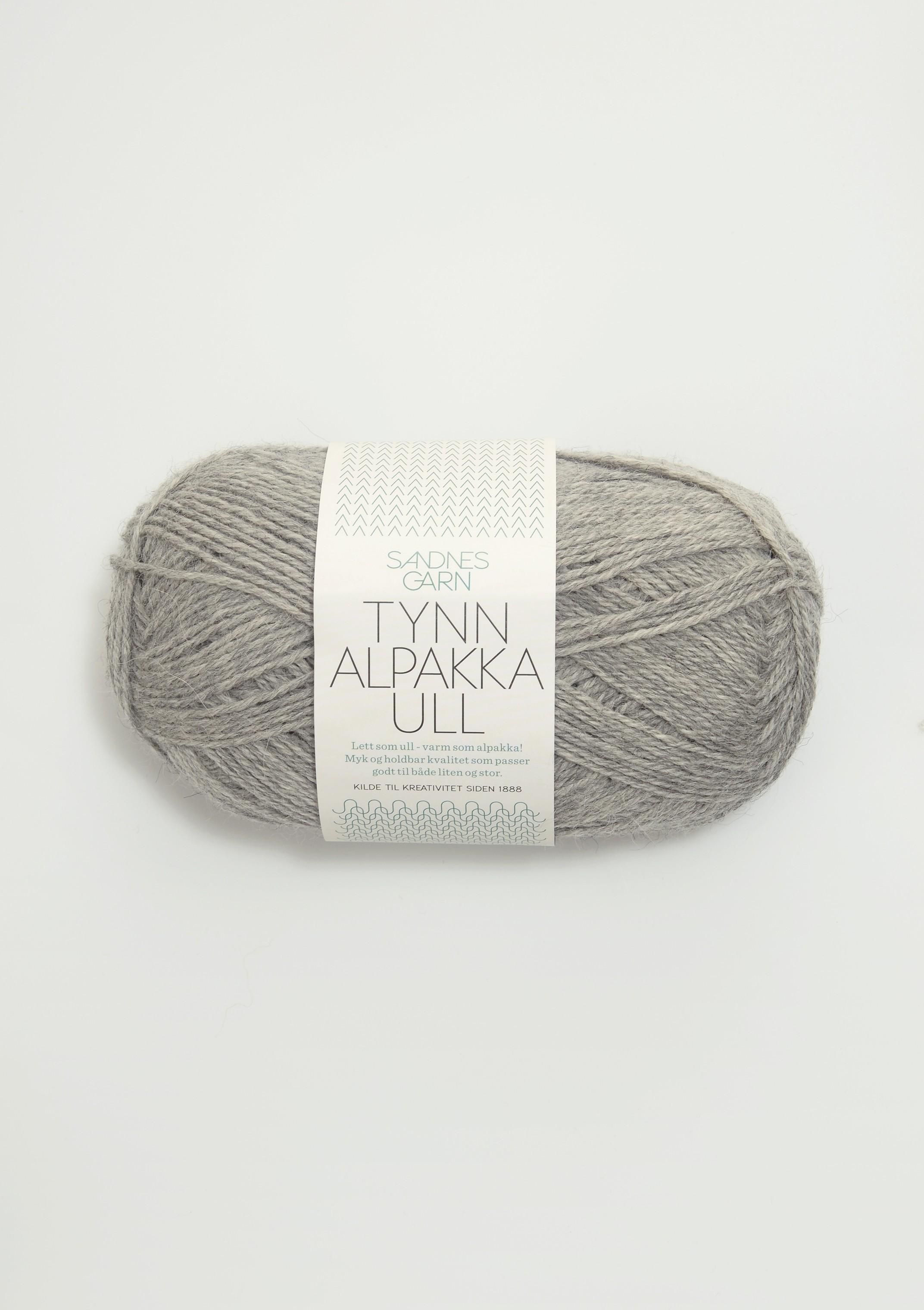 Tynd Alpakka uld fra Sandnes Garn