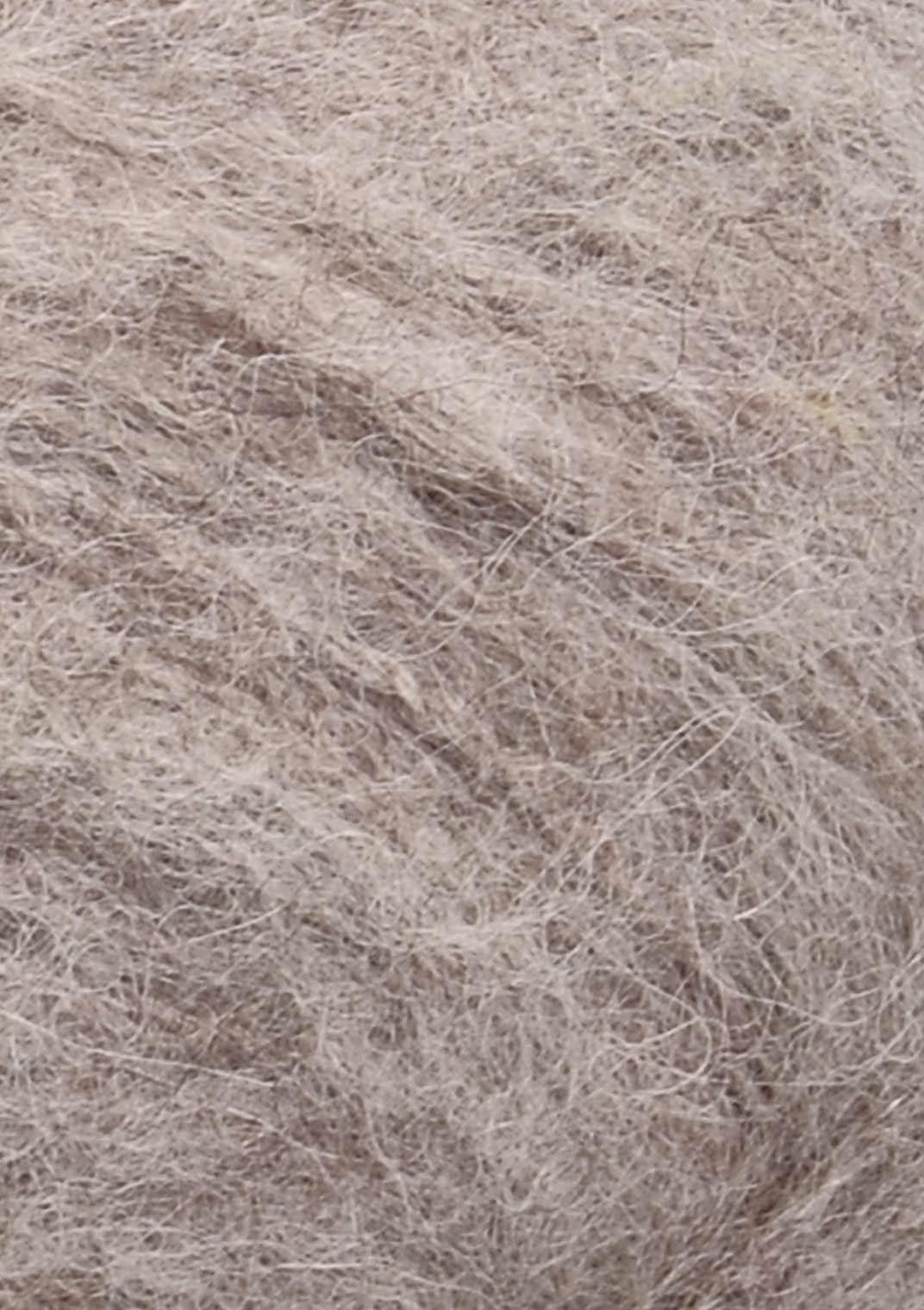 2650 Bigemeleret Børstet Alpakka