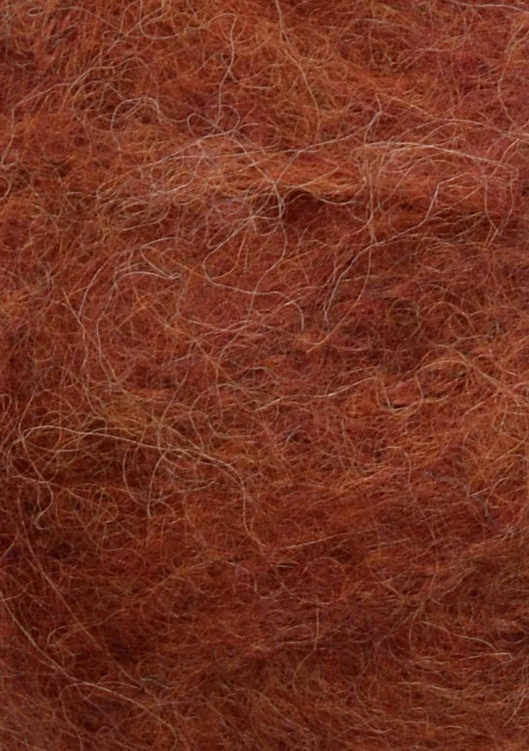 3355 Rust Børstet Alpakka