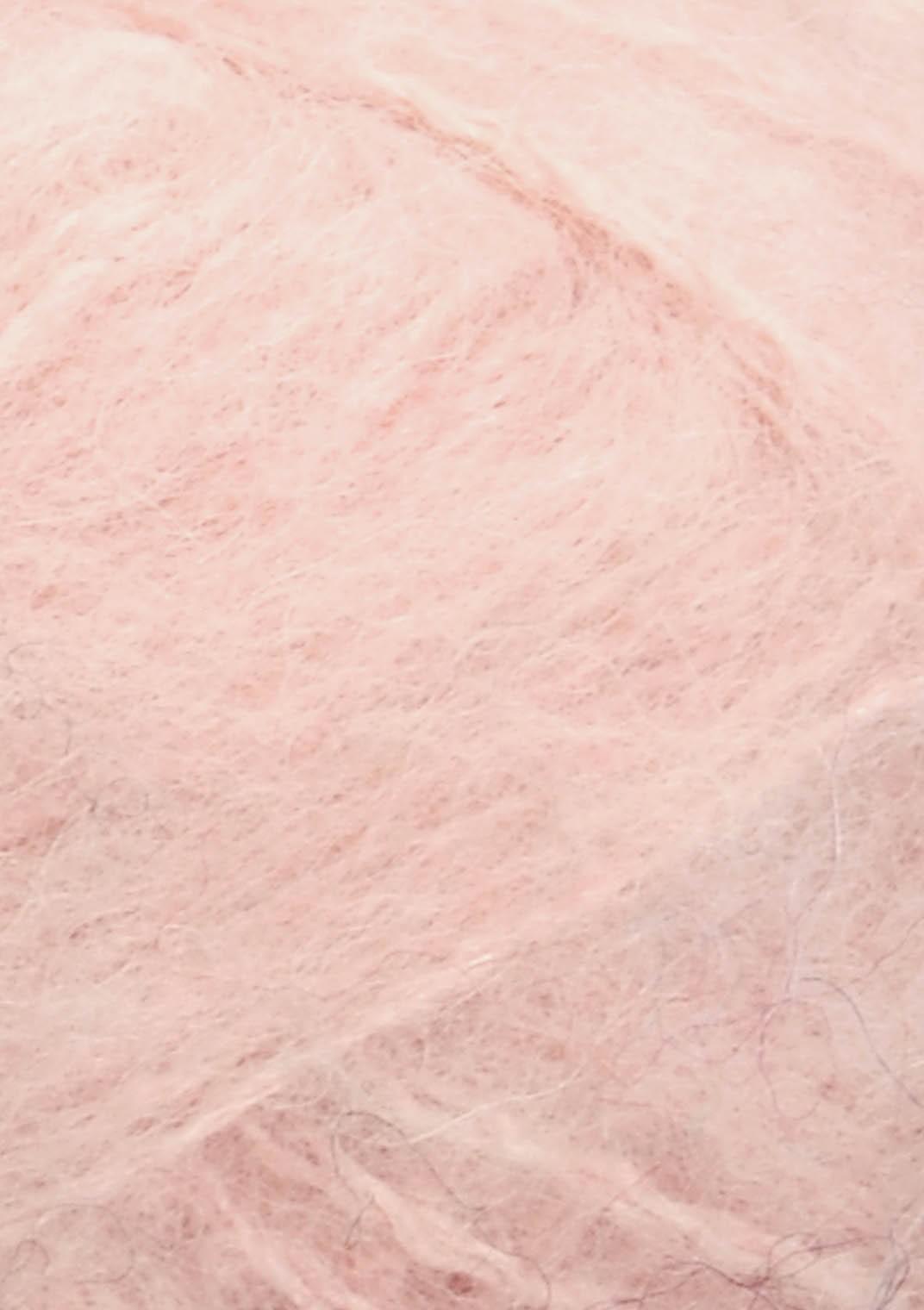 4602 Pudder rosa Børstet Alpakka