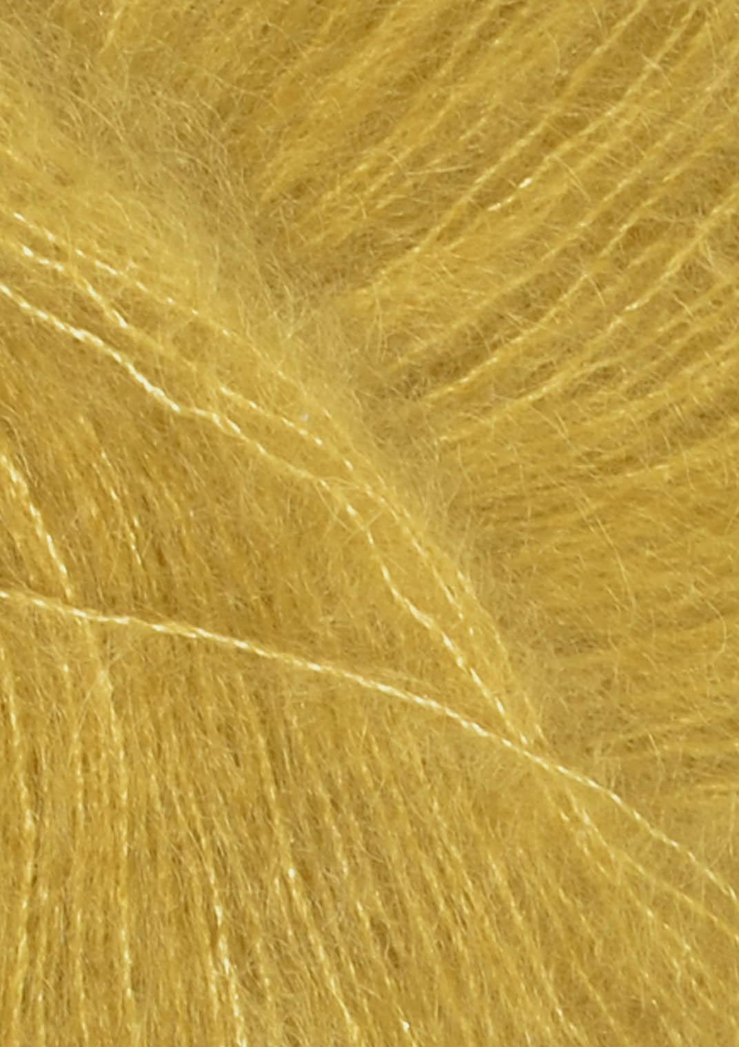 2024 Gulgrøn Tynn silk mohair sandnes garn