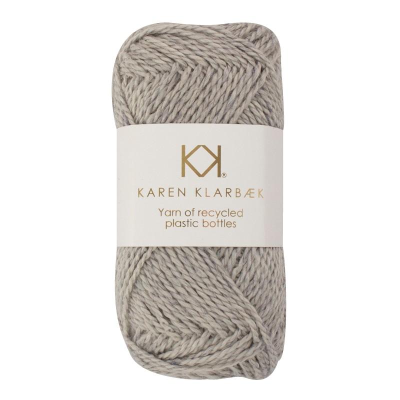 3003 - Dark Grey Karen Klarbæk  genbrugsflaske garn