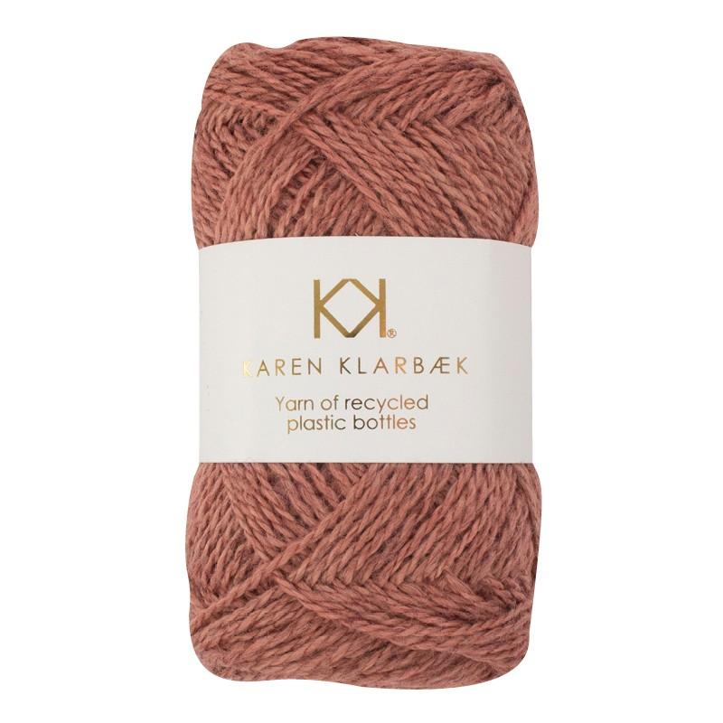 3006 - Dark Old Rose Karen Klarbæk  genbrugsflaske garn