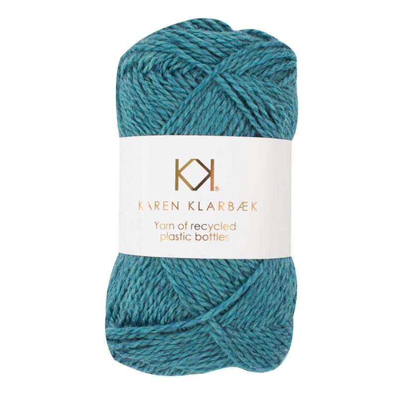 3007 - Jeans Blue Karen Klarbæk  genbrugsflaske garn