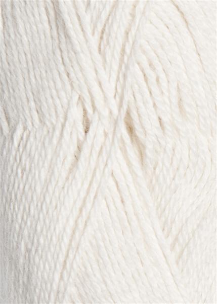 1001 Optisk Hvit Mini Alpakka