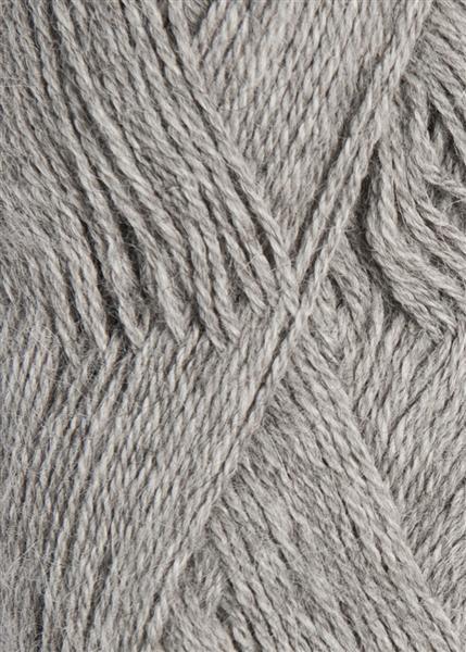 1042 Gråmelert Mini Alpakka