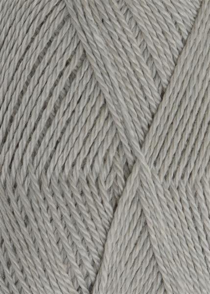 7521 Lys Gråblå Alpakka silke