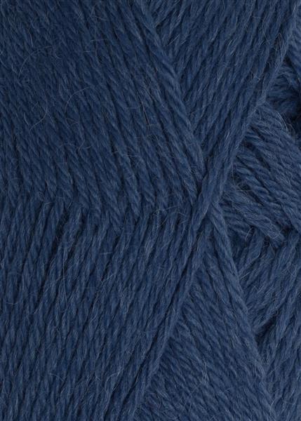 6364 Mørkblå  Alpakka Uld