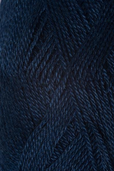 6063 Inkblå  Alpakka silke