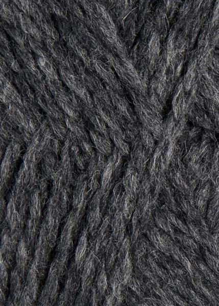 1055 mørk gråmelert Fritidsgarn fra Sandnes