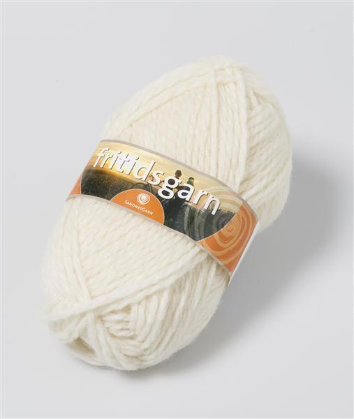 Fritidsgarn 100% norsk uld fra Sandnes garn