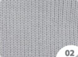 02 Lys Grå Cewec Hot socks Pearl