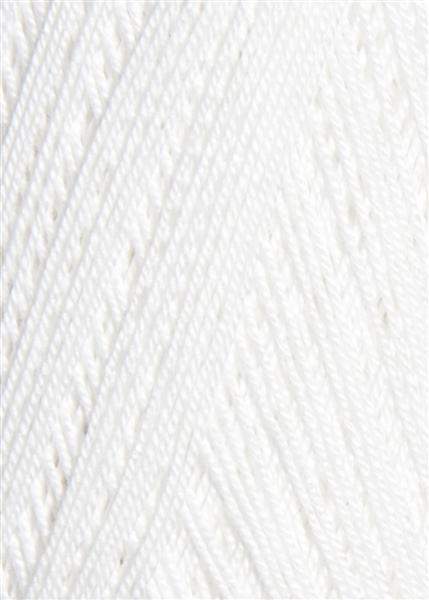 1001 Hvid  Mandarin Hæklegarn