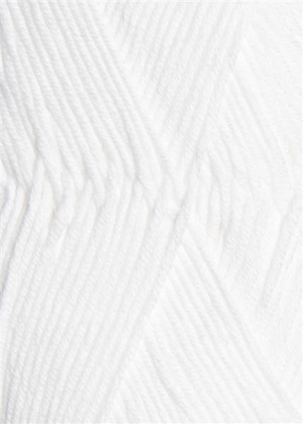 1001 optisk hvid Mandarin Petit Sandnes garn