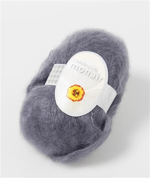 Silk Mohair 60% kid mohair 25% silke og 15% uld blødere end blødt
