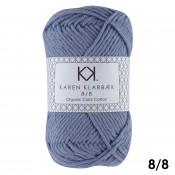 1002 Faded Jeans Blue Karen Klarbæk Bomuld 8/8 økologisk