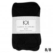 1019 - Black Karen Klarbæk Bomuld 8/8 økologisk